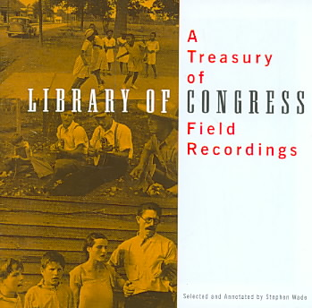 TREASURY OF LIBRARY OF CONGRESS FIELD (CD)